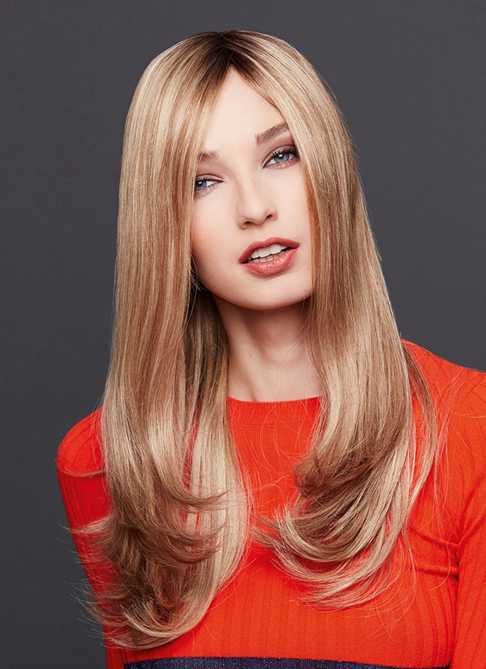 Long Natural Straight Cpaless Human Hair Wigs For White Women