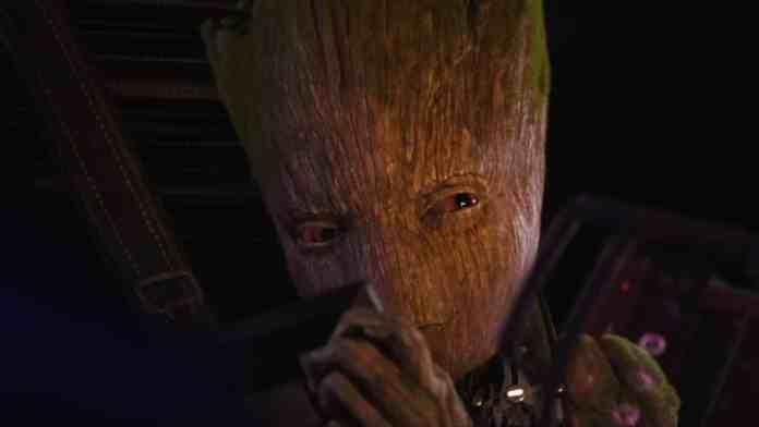 ukážka z Avengers: Infinity War odhaľuje hlas teenagera Groota!