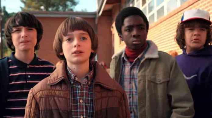 Mike, Lucas, Will, Dustin - Stranger Things