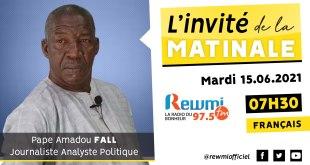 Invité De La Matinale Pape Amadou Fall