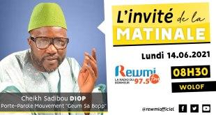 Invité de la Matinale Cheikh Sadibou Diop
