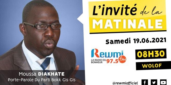 Invité de la Matinale Moussa Diakhaté