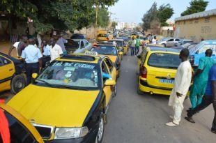 FONDS COVID : Les taximen en sit-in