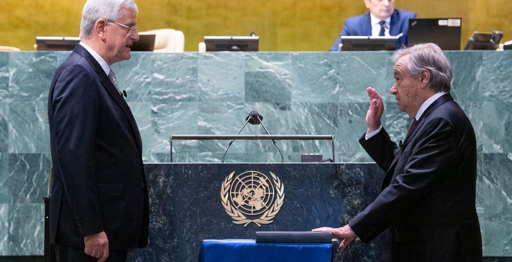 António Guterres, reconduit