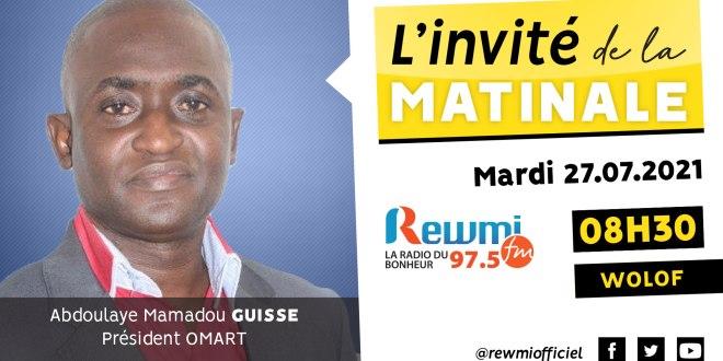 Invité de la Matinale Abdoulaye Mamadou Guissé