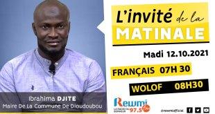 Invite De La Matinale Ibrahima Djité