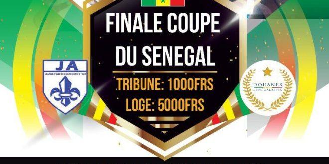 Coupe du Sénégal: Jeanne d'Arc vs AS Douanes en finale