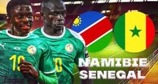 Sénégal Vs Namibie