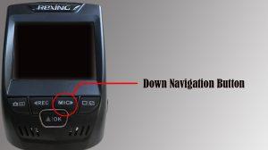 down navigation