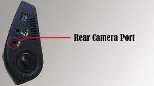 rear camera port