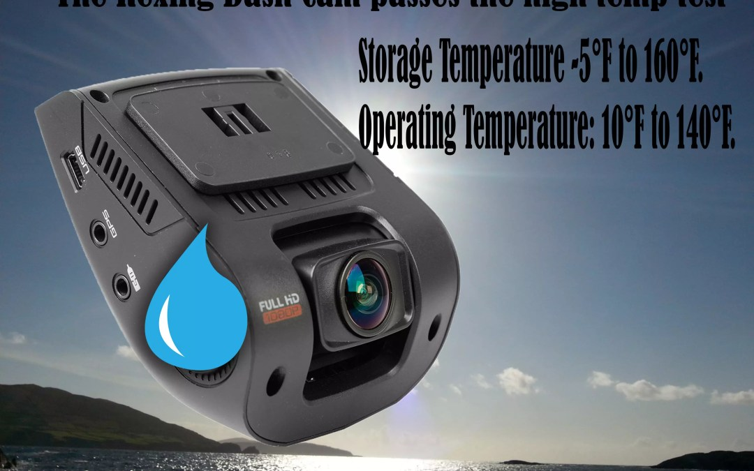 The Rexing Dash Cam passes The High Heat Test