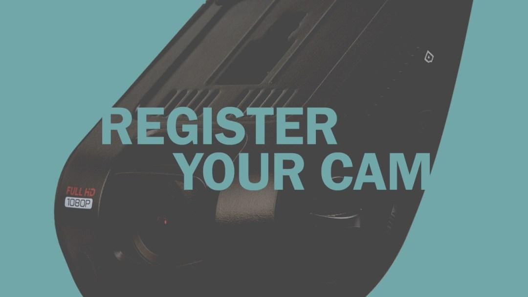 Dash Cam Registration for Rexing USA