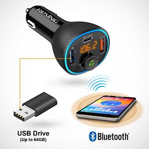 FM3 Bluetooth 5.0 USB Music Player 1