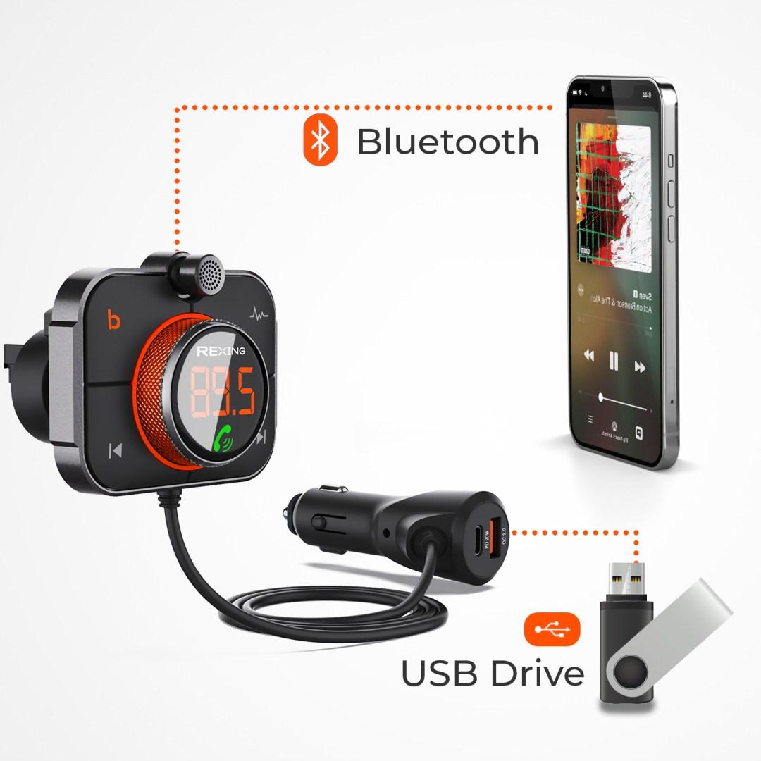 USB drive bluetooth