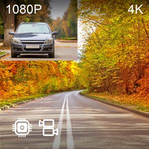 V1P 4K 4K 1080p Dual Channel Recording