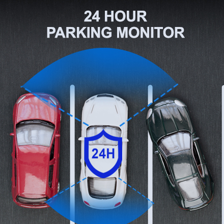 V1P Max 24 HOUR PARKING MONITOR 1