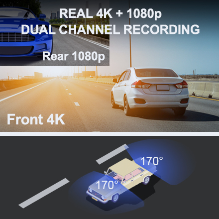 V1P Max REAL 4K 1080p DUAL CHANNEL RECORDING 1