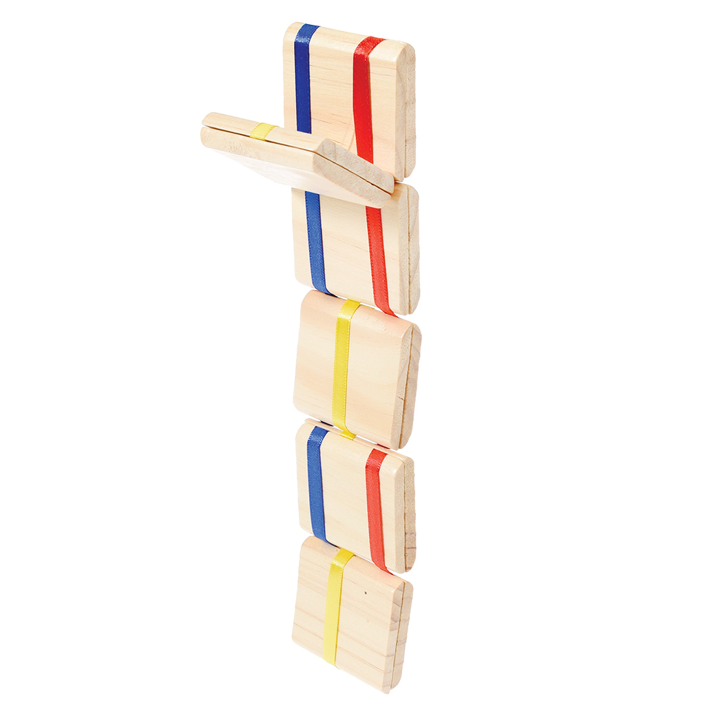 Wooden Jacobs Ladder Game
