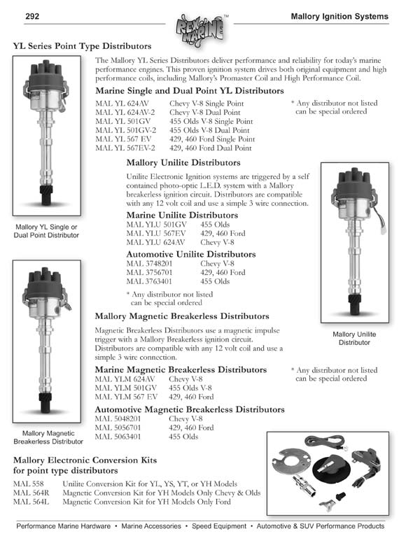 Mallory Unilite Distributor Wiring Diagram Photograph Album ...