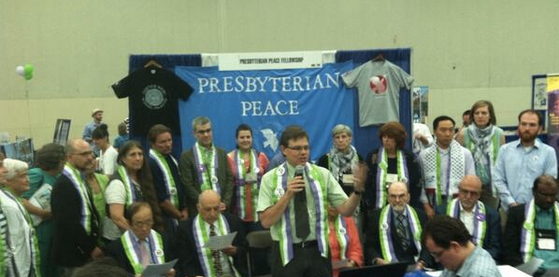 Divestment Press Conference at the 221st General Assembly of the Presbyterian Church (USA)