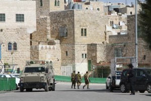 Israeli Military in Hebron