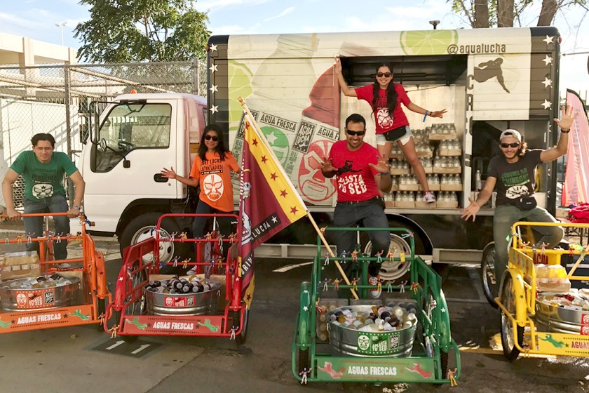 AguaLucha Carts Truck