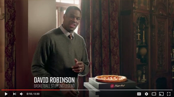 Pizza Hut  - Dick Vitale, David Robinson