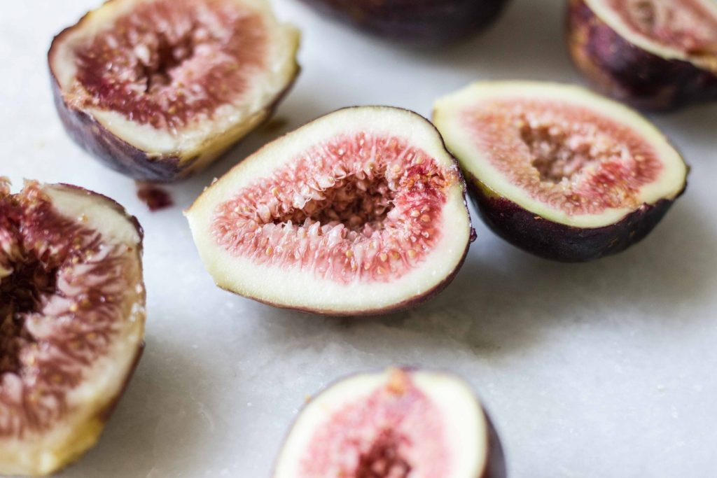 Goat Cheesecake with Roasted Figs