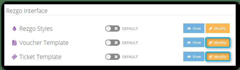 ticket voucher template