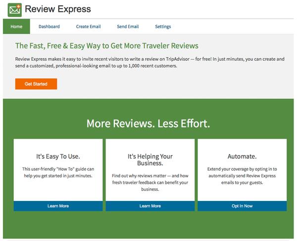 TripAdvisor Review Express
