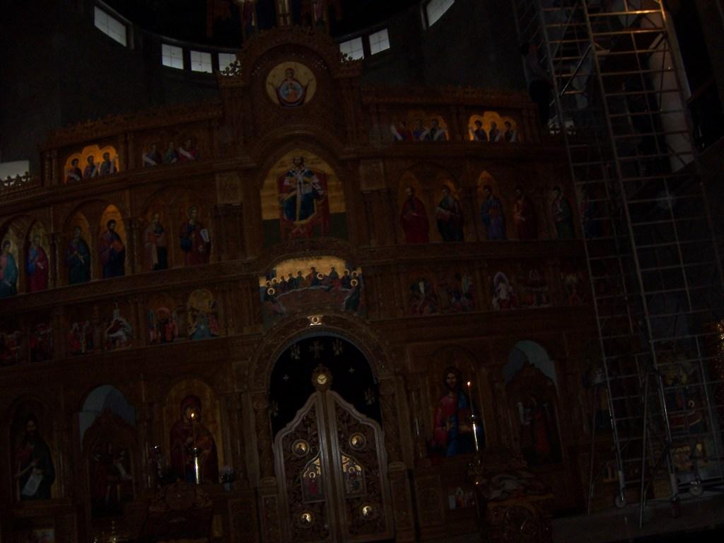 140 Visiting Mioveni church