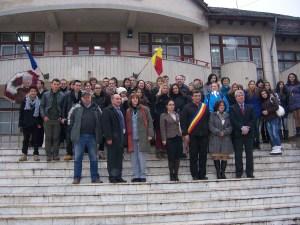 89 Visiting Costesti Town Hall