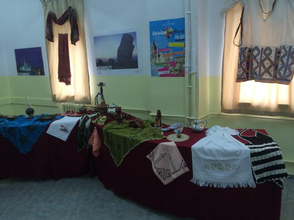 55 Exhibition at school