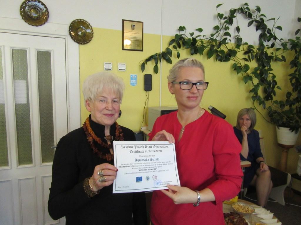 64. Presenting certificates
