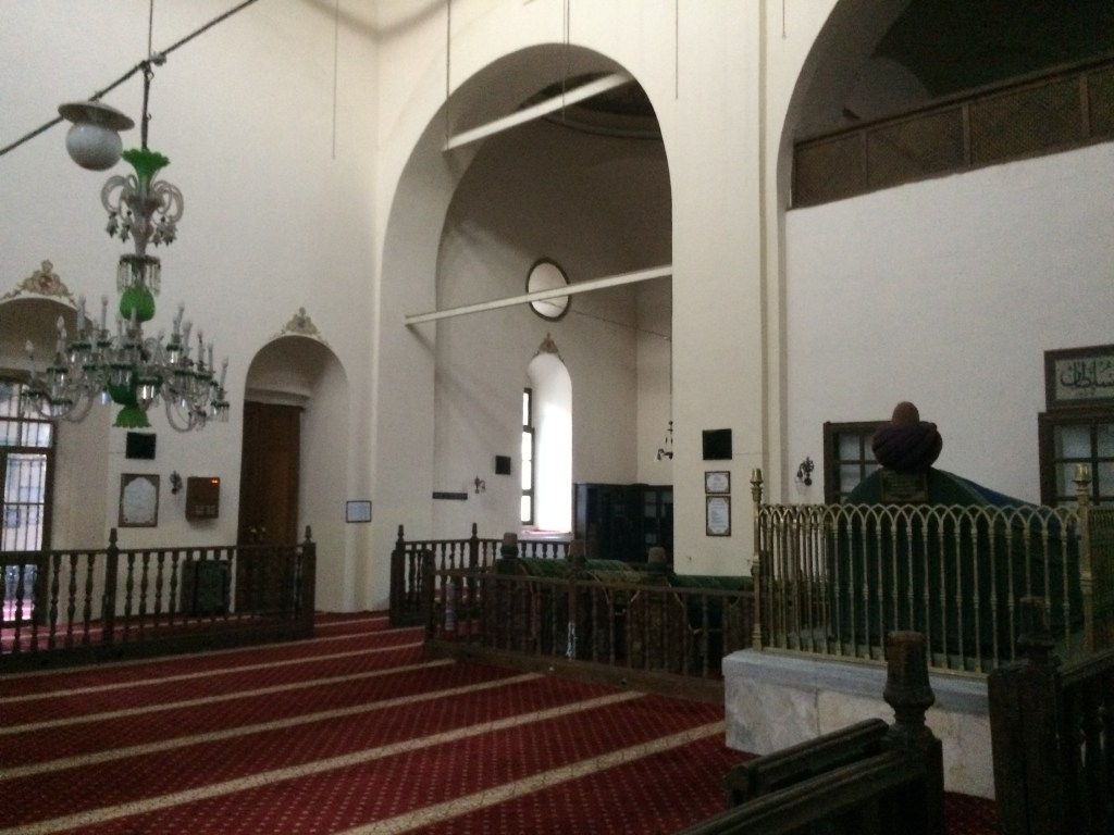 40. In the mosque