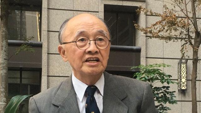 台湾外交部前部长程建人(RFA资料照)