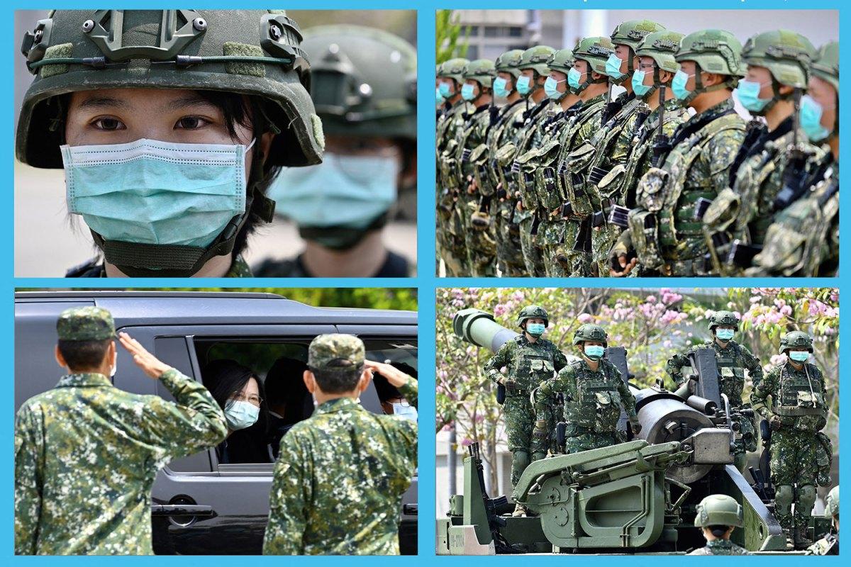 国军爆发首起群聚感染 美参议员吁分配疫苗给台湾军队 — 普通话主页