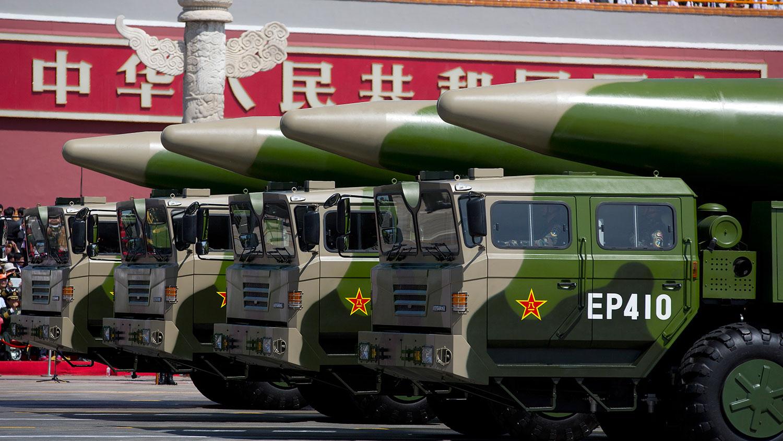 中国核武无约束 北约促北京加入核军控谈判