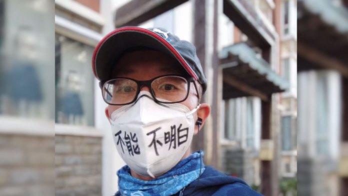 北京维权人士胡佳(图)担心,当局会以李翘楚的健康作为要挟。(胡佳独家提供)