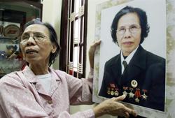 Bà Lê Hiền Đức, người được giải thưởng của Tổ chức Minh Bạch Thế giới về thành tích chống tham nhũng. AFP photo
