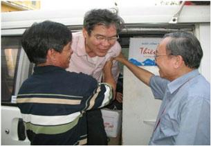 Ngày 15 tháng 3, 2010 linh mục Nguyễn Văn Lý đã được đưa về Nhà Hưu Dưỡng của Gìáo phận Huế để điều trị. RFA file