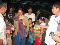 Một nhóm người Thượng từ vùng Tây Nguyên Việt Nam chạy sang Campuchia để tìm kiếm sự giúp đỡ của UNHCR