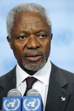 Nguyên Tổng thư ký Liên Hiệp Quốc Kofi Annan. Photo courtesy of UN.