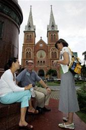 Nhà thờ Đức Bà ở Saigon