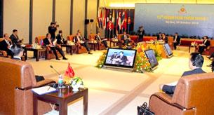 Các quốc gia đang nghe bài diễn văn của thủ tướng Nguyễn Tấn Dũng