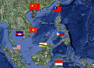 Bản đồ các quốc gia tranh chấp vùng Biển Đông. Source us-china-institude