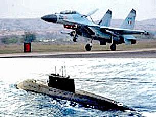 """Quân đội Việt Nam: Chiến đấu cơ Su-30MK2 và tàu ngầm """"Kilo"""" 636 của Nga"""