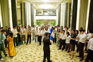 Ảnh minh họa: Đại hội thanh niên sinh viên Việt nam Thế giới kỳ 5 / 2008 tại Malaysia . lenduong.net