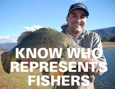 Who represents fishers in NSW?