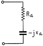 Equivalent circuit of a short vertical radiator - RF Cafe
